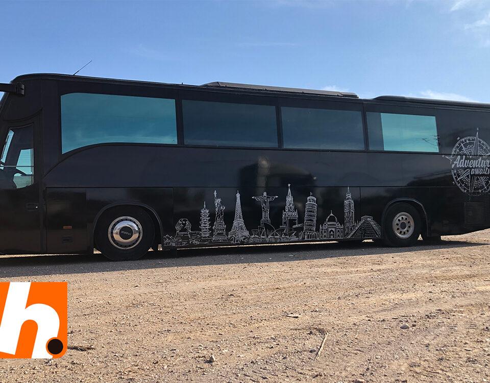 Rotulación autobus murcia